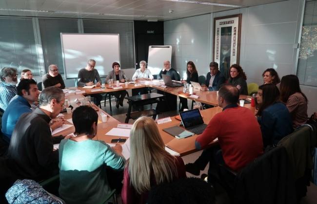El concurso-oposición 2020 centra la reunión de la Mesa Sectorial de Educación