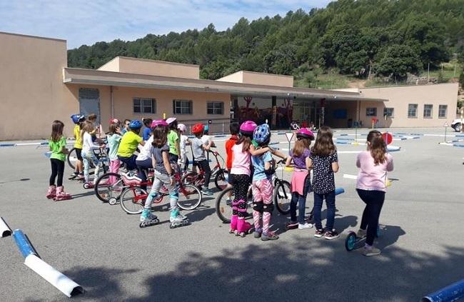 Las Pitiüses cuentan con un nuevo parque infantil de tránsito para el Programa autonómico de Educación Vial