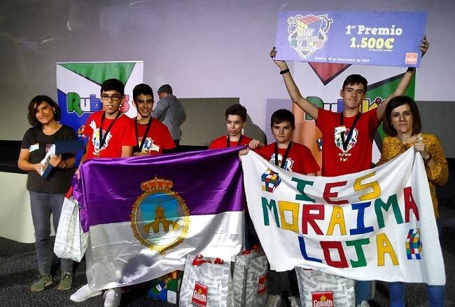 Dos colegios baleares, finalistas del IV Campeonato Interescolar del Cubo Rubik's
