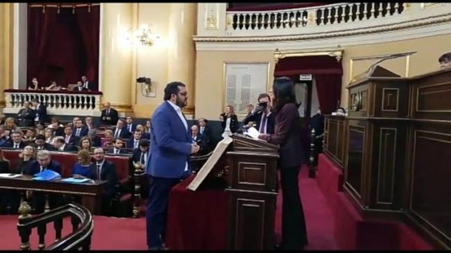 Vidal promete el acta de senador 'sin renunciar al derecho a la autodeterminación'