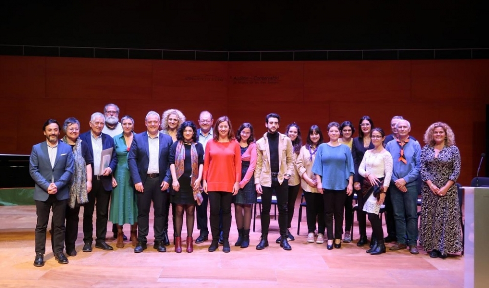 Moviment Escolta i Guiatge de Mallorca, GOB-Menorca, Médicos del Mundo-Eivissa y Qué Celeste de Formentera, primeros Premios Voluntariado IB