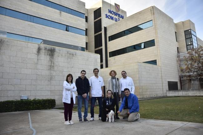 Los pacientes de la UCI del Hospital Universitario Son Llàtzer ya pueden recibir visitas de sus mascotas