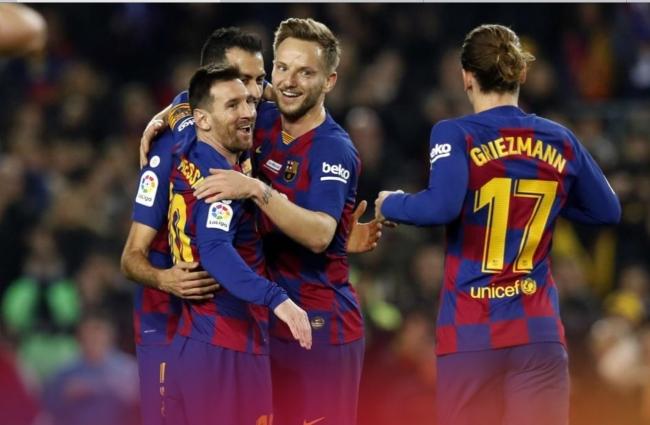 El FC Barcelona golea al  Mallorca 5 a 2