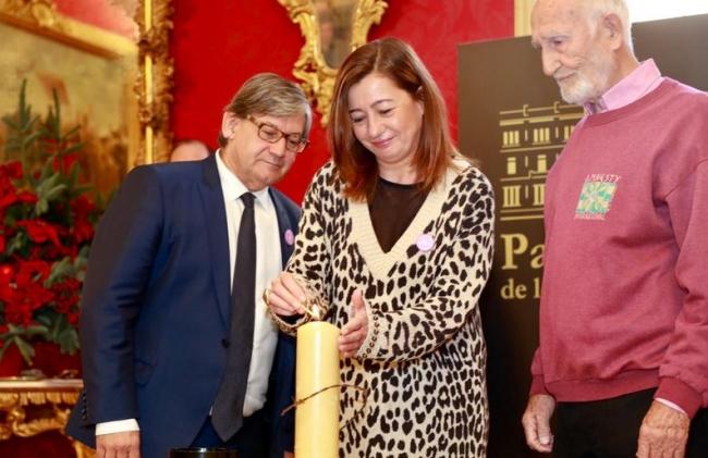 Armengol en el acto conmemorativo del Día Internacional de los Derechos Humanos en el Parlament