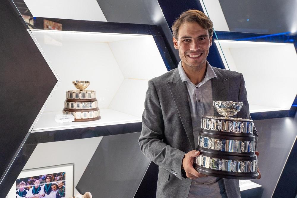 La Copa Davis llega al Rafa Nadal Museum Xperience