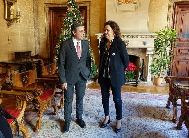Catalina Cladera pide al senador Marí Bosó compromiso con la mejora de la financiación