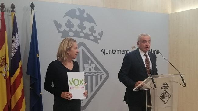 """VOX Palma: 'Hila está de espaldas a la ciudadanía y le pasará factura"""""""