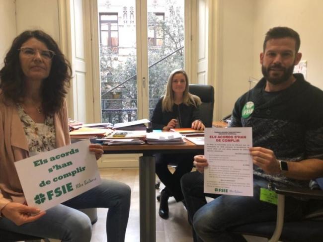 Cs Baleares lamenta que PSIB, Podemos y Més voten en contra de mejorar las condiciones de los docentes de la Concertada