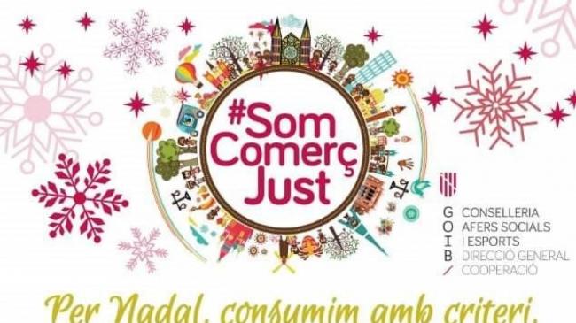 """Campaña """"Per Nadal, consumim amb criteri, triem comerç just"""""""