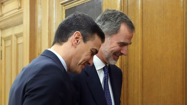 Sánchez recibe el encargo de formar gobierno