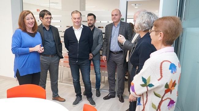 La presidenta Francina Armengol inaugura la nueva sede del SOIB en Eivissa