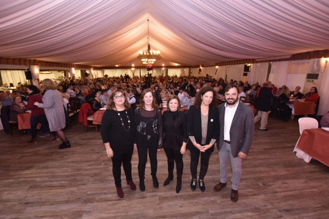 Los Socialistas de Mallorca celebran una cena de Navidad con cerca de mil militantes