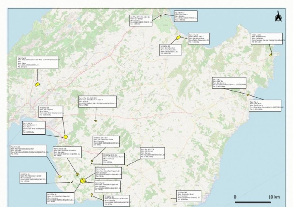 El GOB alerta de un nuevo boom de parques fotovoltaicos en suelo rústico