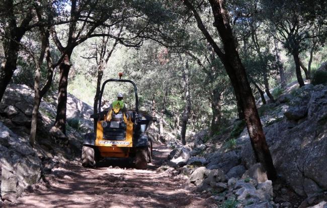 El estado aporta un millón de euros para la reparación de caminos forestales afectados por la DANA