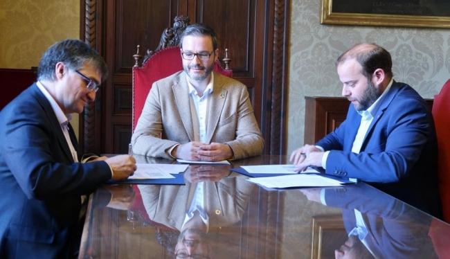Medi Ambient y EMAYA renuevan el protocolo de inversiones en materia de saneamiento y depuración