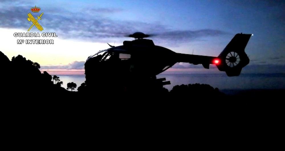La Guardia Civil rescata a una excursionista  con problemas respiratorios