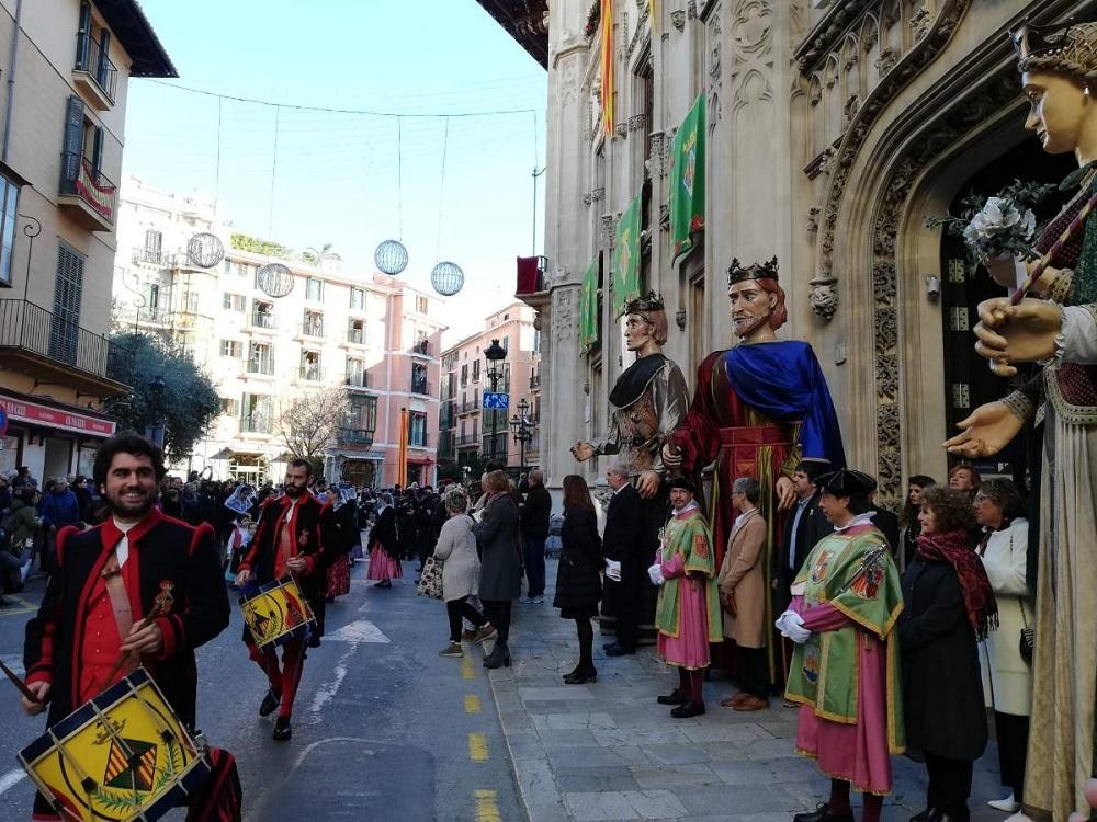 El Consell de Mallorca celebra la fiesta del Estendard en al marco de la Diada de Mallorca