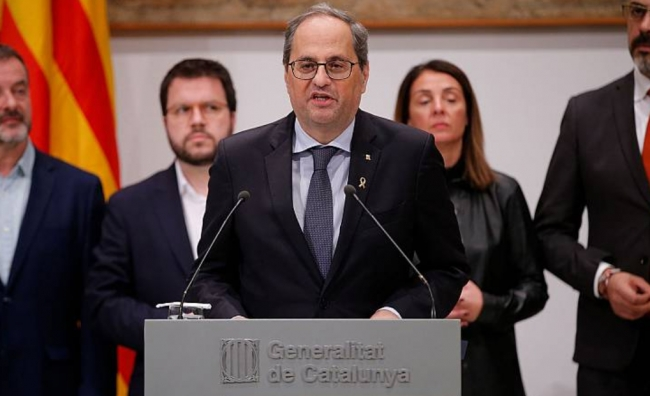 La Junta Electoral Central inhabilita a Torra