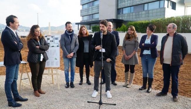 Empiezan las obras de la promoción de 19 viviendas en la calle Xarch de Eivissa