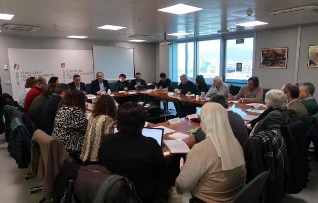 Presentan el Anteproyecto de la Ley de Educación a la Mesa de la Enseñanza Privada Concertada