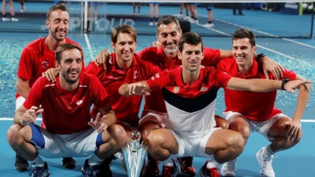 Serbia se lleva la final de la Copa ATP