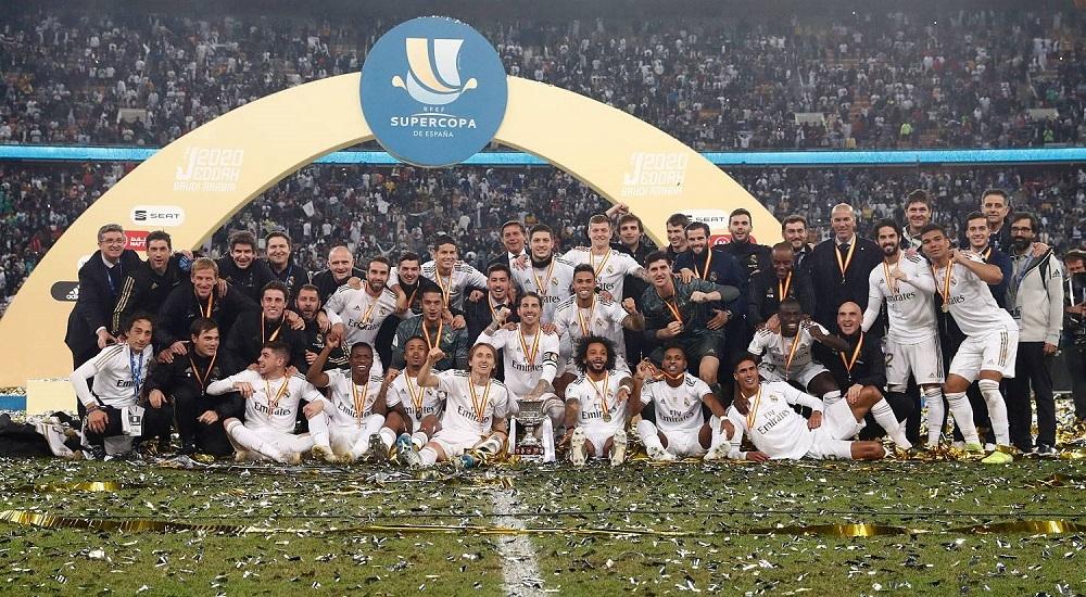 El Real Madrid conquista  su undécima Supercopa de España de su historia