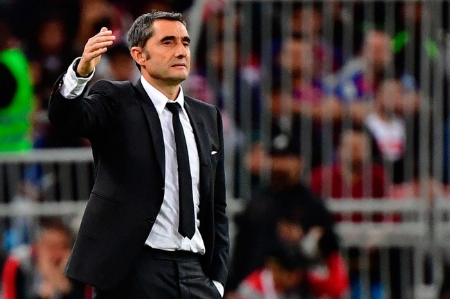 El FC Barcelona despide a Valverde