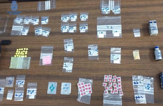 Un detenido en un control policial   por llevar sustancia estupefaciente