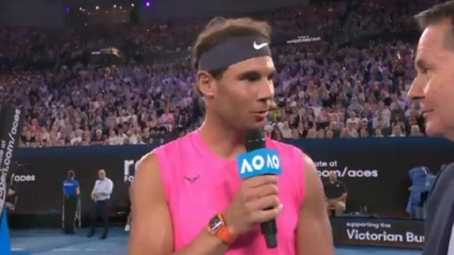 Nadal y Federer donan 250.000 dólares contra los incendios de Australia