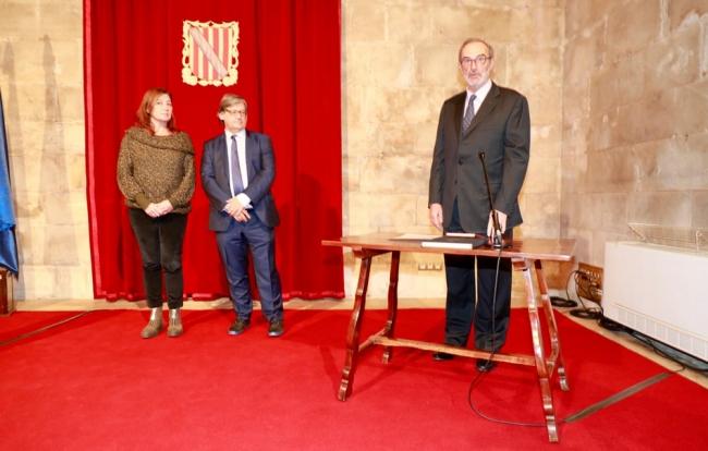 Armengol asiste a la toma de posesión del presidente y de la consejera secretaria del Consell Consultiu