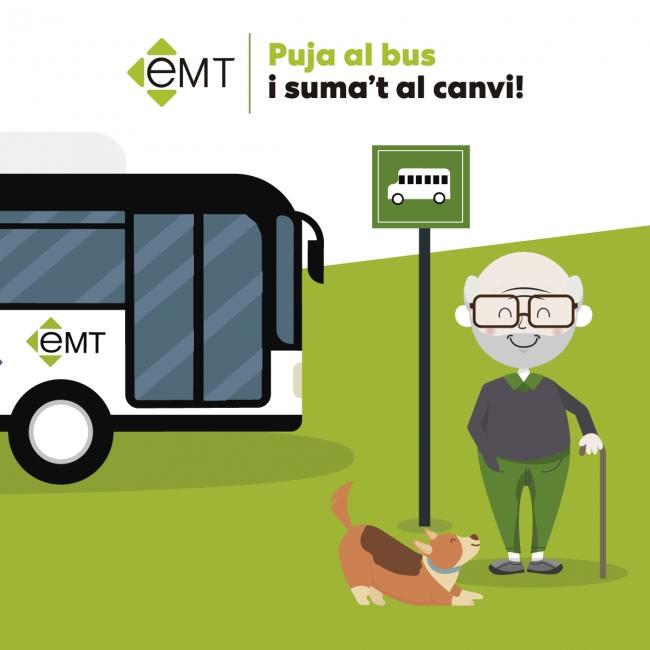 La EMT dobla el número de líneas dónde estará autorizado viajar con mascotas a partir de dia 1 de febrero