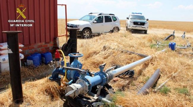 La Guardia Civil detiene e investiga a 107 personas por la extracción de agua de más de 1.400 pozos ilegales