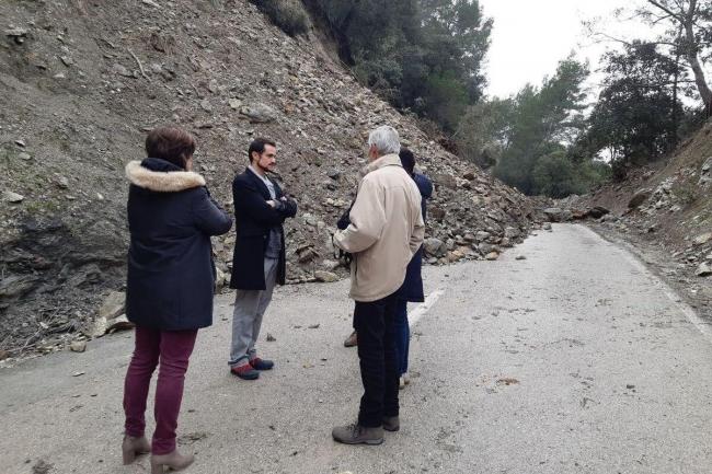 El Consell de Mallorca apoya a los municipios más afectados por el paso de la borrasca Gloria
