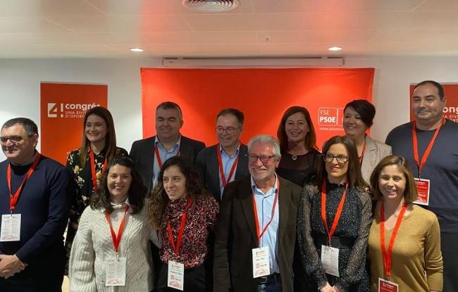 Francina Armengol celebra la nueva etapa que abren los Socialistas de Ibiza
