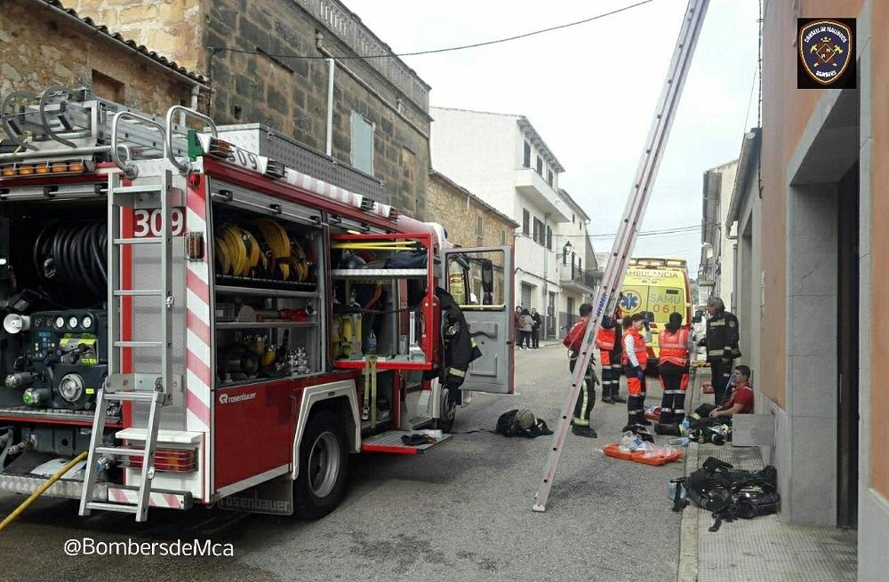 Fallece un niño de cinco años en un incendio en Villafranca