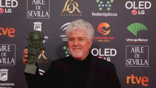 Pedro Almodóvar, triunfador en los Goya 2020