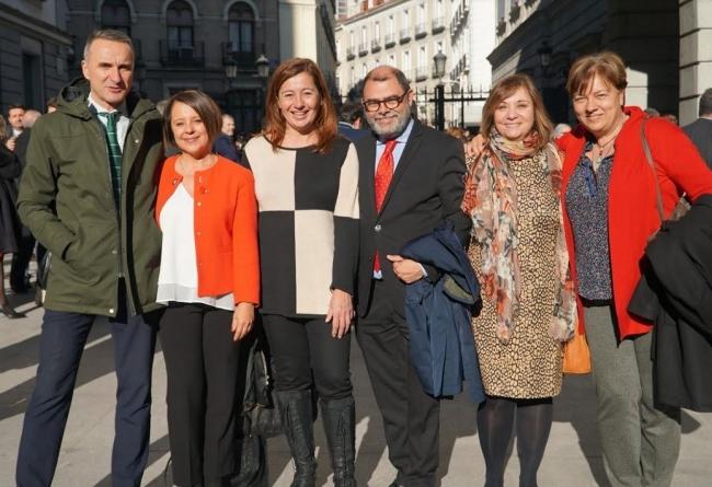 El PSIB-PSOE tendrá una presidencia, tres cargos de portavoz y dos vicepresidencias en las comisiones del Congreso y del Senado