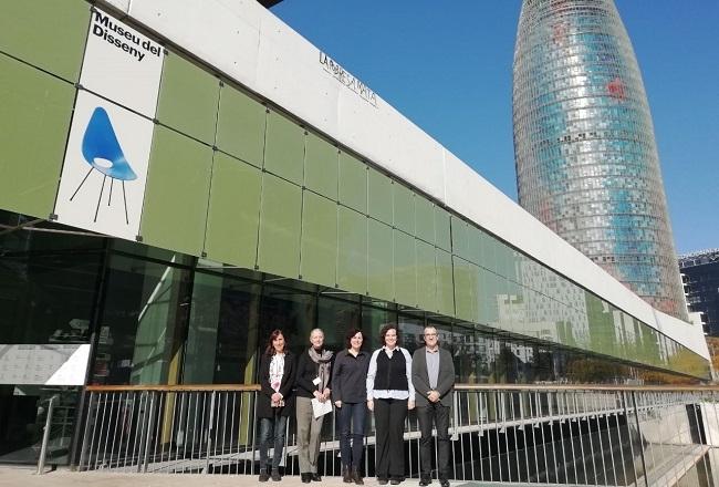 El vicepresidente Yllanes visita el Disseny Hub Barcelona para potenciar el sector del diseño de las Illes Balears