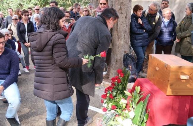 El Govern entrega los restos de Joan Ferrà Ferrà a su familia