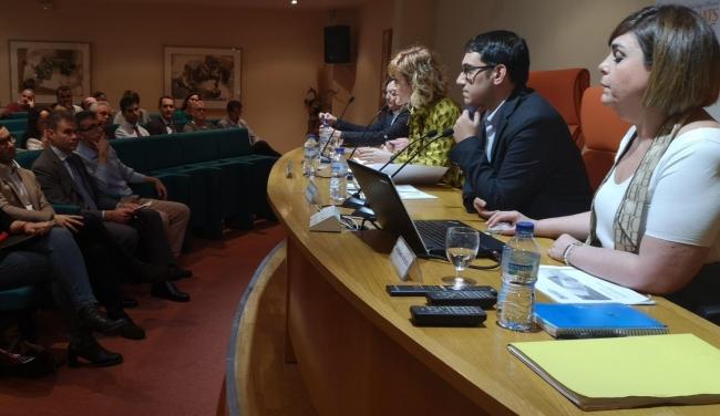 Negueruela inaugura la jornada informativa para explicar la campaña de Inspección de Trabajo 2020