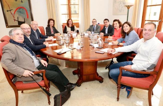 La Mesa de Diálogo Social acuerda ampliar sus ámbitos de actuación en el marco de la Agenda Balear 2030