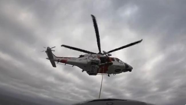 Salvamento Marítimo traslada a Son Espases a un hombre en estado crítico