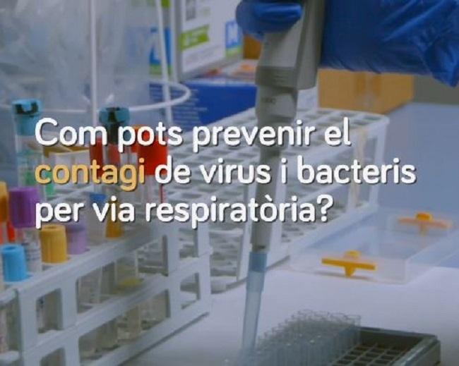 ¿Cómo puedes prevenir el contagio de virus y bacterias por vía respiratoria?