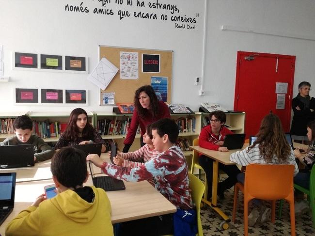 Educación presenta EDUTECA, la biblioteca digital para los centros educativos de las Illes Balears