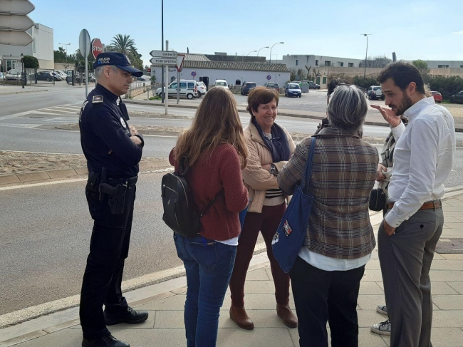 El Consell se coordina con las entidades locales de Santanyí para dar solución a los problemas de movilidad en el municipio