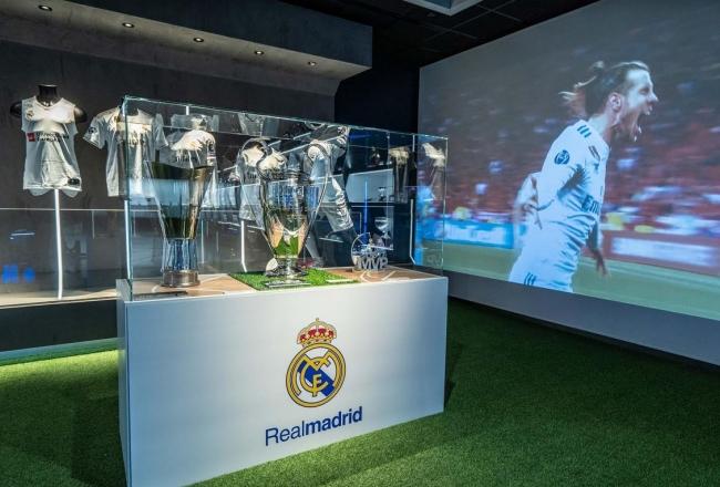 El Real Madrid se exhibe en el Rafa Nadal Museum Experience