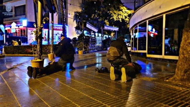 Doce detenidos, gracias a los dispositivos de prevención de la delincuencia en vía pública