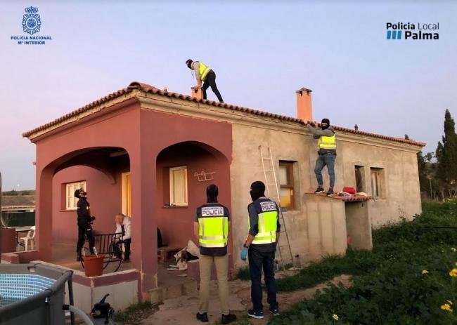 La Policía Nacional y la Policía Local desmantelan un clan que controlaba el menudeo de drogas