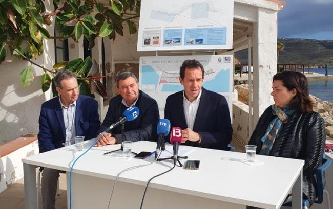 El conseller Marc Pons anuncia la recuperación de las viviendas en concesión en Fornells