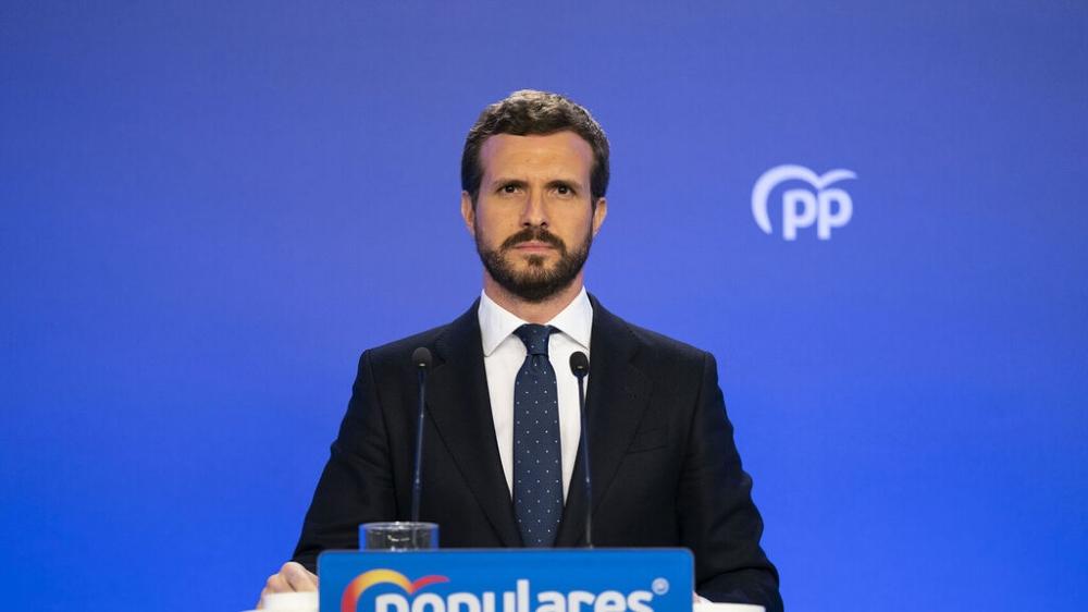 Casado: Con esta crisis sanitaria no se puede estar pendiente de los retrasos que imponen Podemos o los independentistas